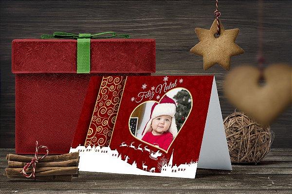 Cartão de Natal Personalizado Impresso 248