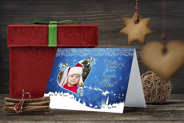 Cartão de Natal Personalizado Impresso 240