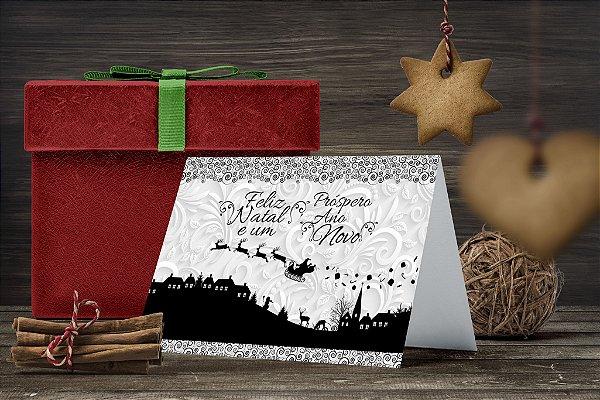 vCartão de Natal Personalizado Impresso 238