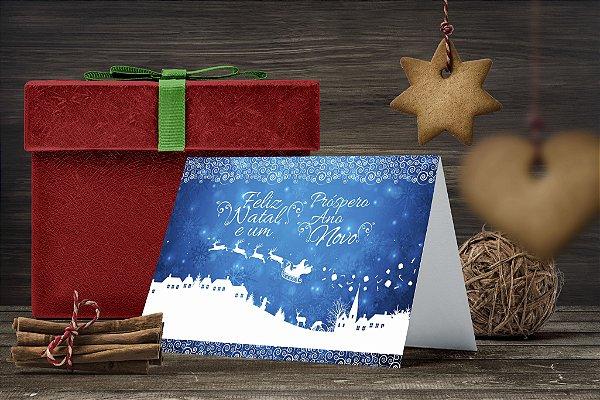 Cartão de Natal Personalizado Impresso 236