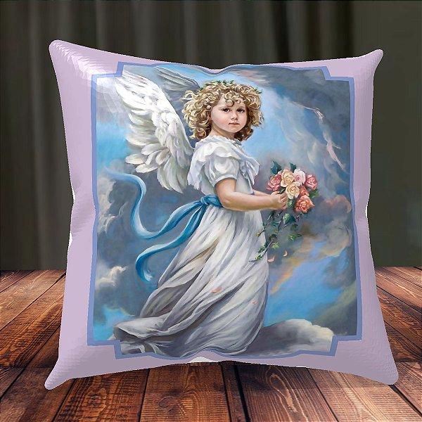 Almofada Personalizada para Festa Anjo da Guarda 3