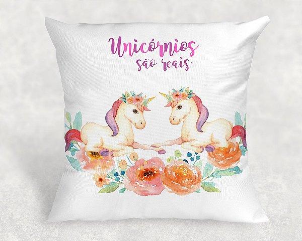 Almofada Personalizada para Festa Unicornio 24