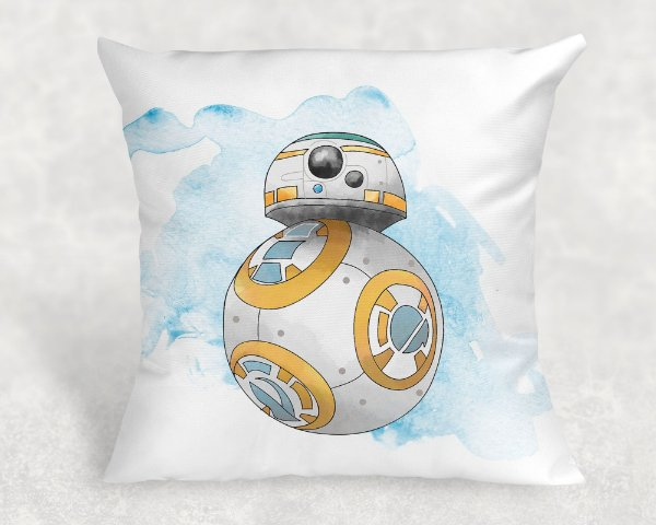 Almofada Personalizada para Festa Star Wars 4