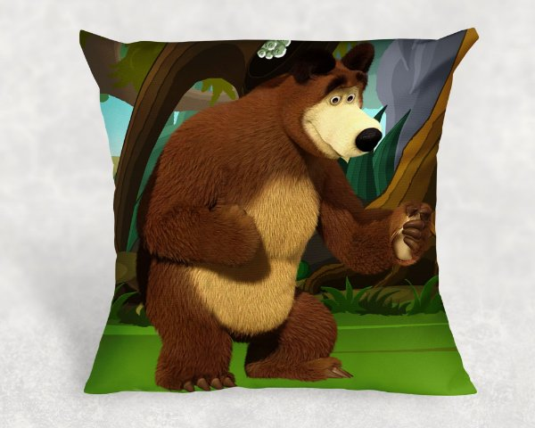 Almofada Personalizada para Festa Masha e o Urso 4