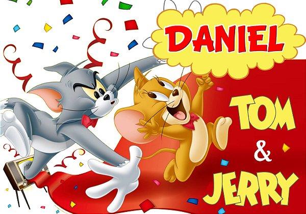 Painel TNT Tom e Jerry