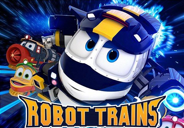 Painel TNT Robot Trains