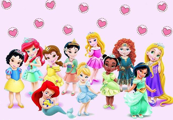 Painel TNT Princesas Disney Baby