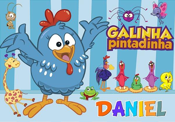Painel TNT Galinha Pintadinha 1