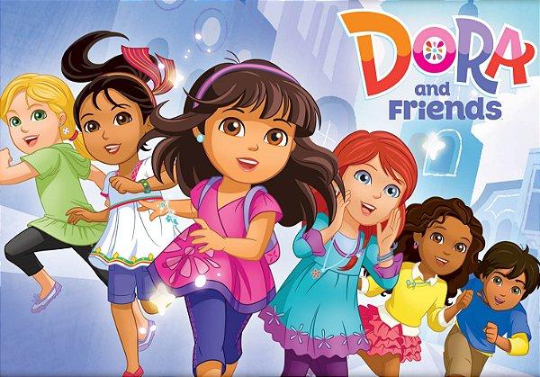 Painel TNT Dora e Seus Amigos na Cidade