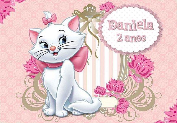 Painel TNT Gatinha Marie 2