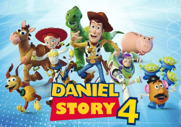 Painel TNT Toy Story 3