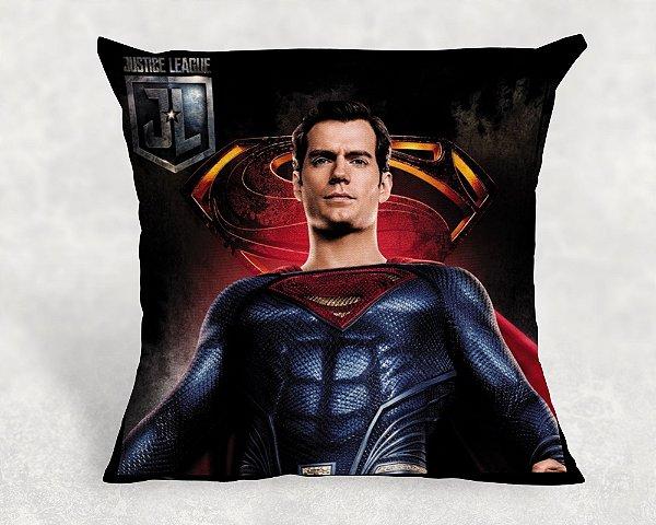 Almofada Personalizada para festa Liga da Justiça Superman 001