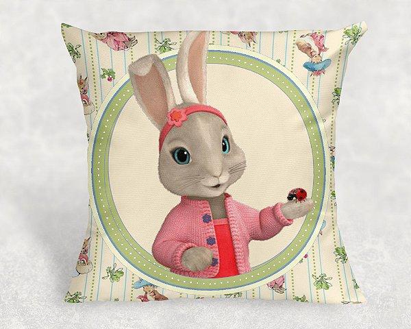 Almofada Personalizada para festa Peter Rabbit 003