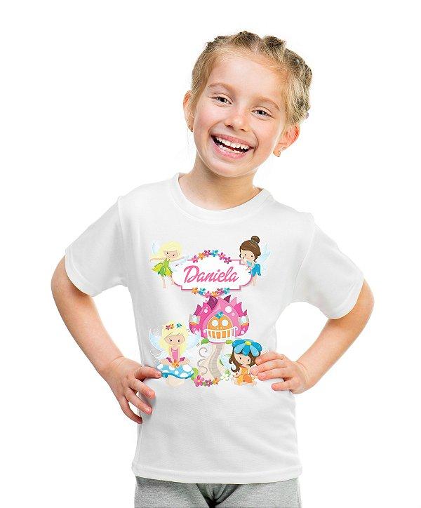 Camiseta Infantil Fadas
