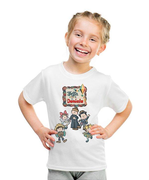 Camiseta Infantil Festa Junina