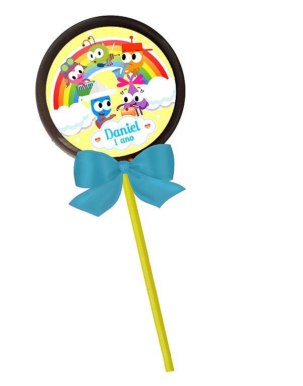 Adesivo personalizado para pirulito Baby TV Choopies