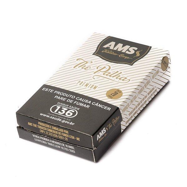 AMS The Palha Premium Cigarreira com 20 Cigarros
