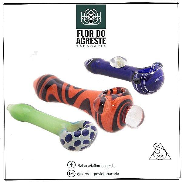 Pipe Squadafum vidro borosilicato 4mm