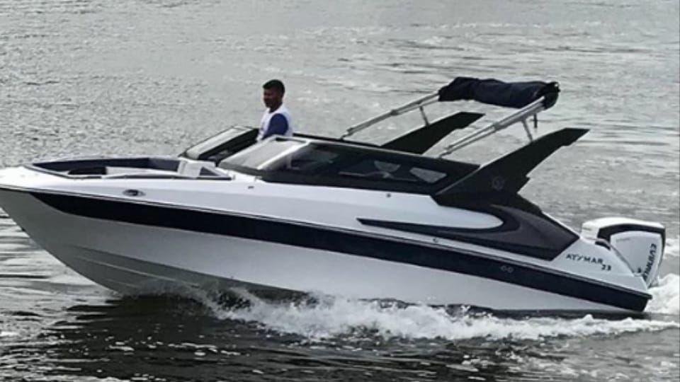 Lancha Atymar 23 Ano 2017 Motor Evinrude G2