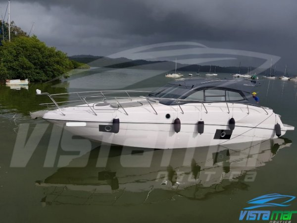 Lancha Coral 43 Full HT 2018 Impecável
