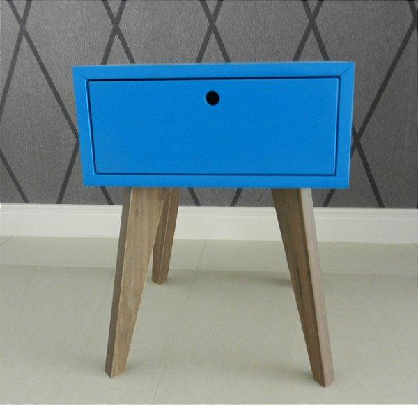 Criado mudo vintage cor azul