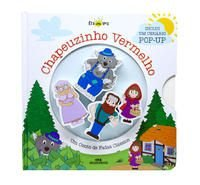 Chapeuzinho Vermelho (livro + cenário pop-up + 4 personagens de madeira)