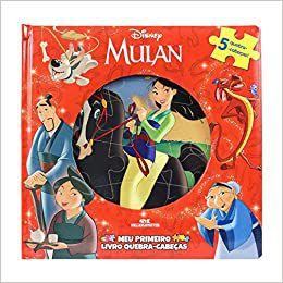 Mulan: Meu Primeiro Livro Quebra-Cabeças