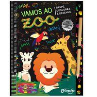 Vamos ao zoo - raspe, descubra e desenhe