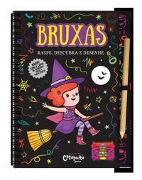 Bruxas - raspe, descubra e desenhe
