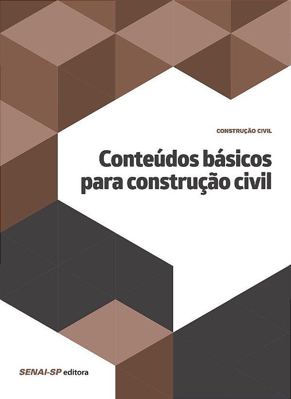 Conteúdos Básicos Para Construção Civil Vários Autores