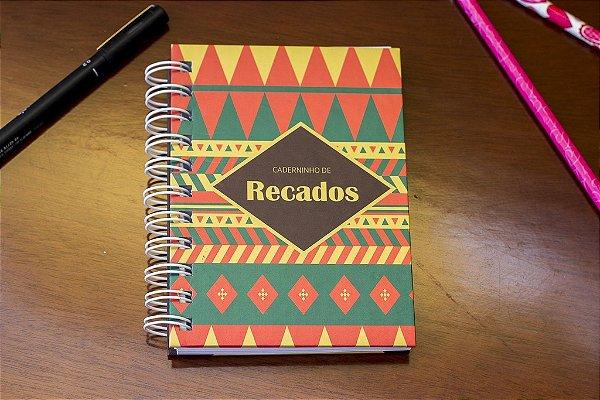 Caderno de Anotações Étnico
