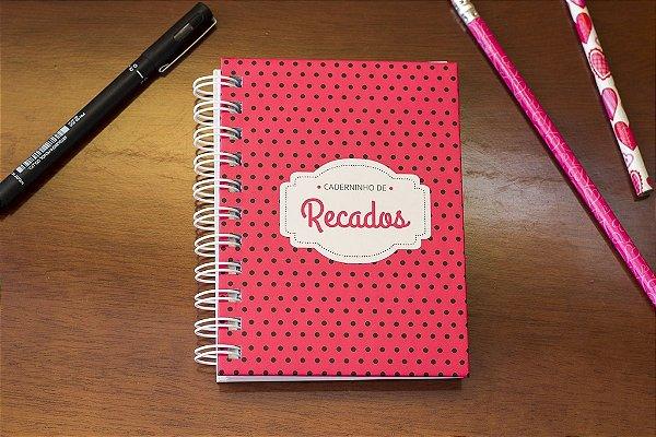 Caderno de Anotações Poá