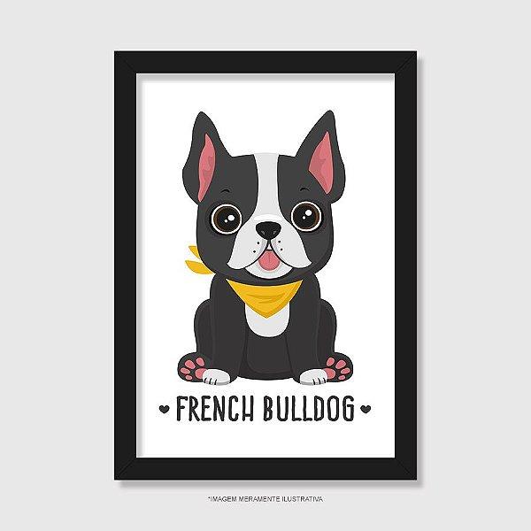 Quadro French Bulldog - Modelo 1