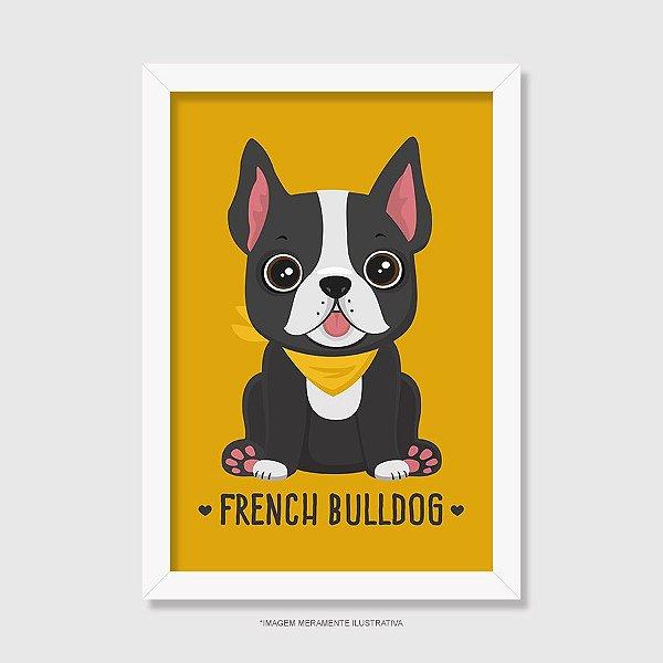 Quadro French Bulldog - Modelo 2