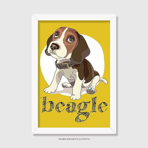 Quadro Beagle - Modelo 1