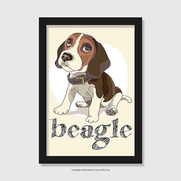 Quadro Beagle - Modelo 2