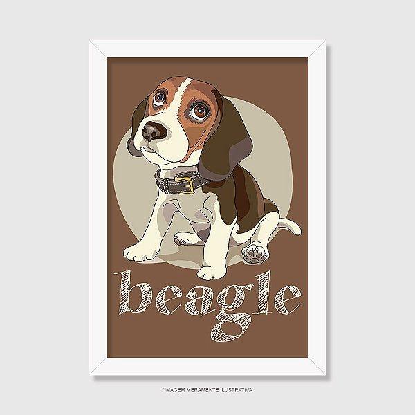 Quadro Beagle - Modelo 3