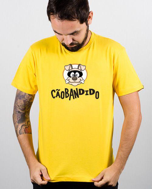 Camiseta Cão Bandido