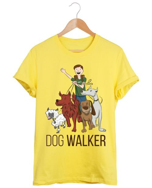 Camiseta Dog Walker