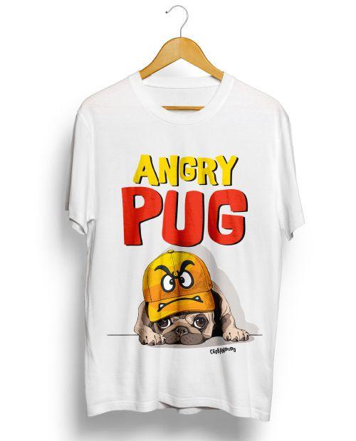 Camiseta Angry Pug