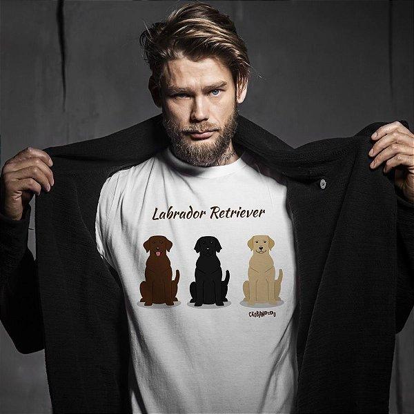 Camiseta Labrador Todas as Cores
