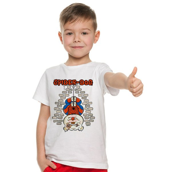 Camiseta Infantil Spider-Dog