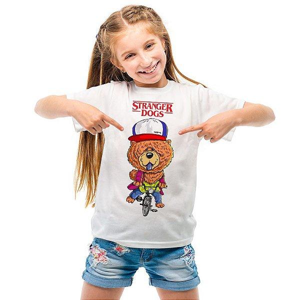 Camiseta Infantil Stranger Dogs