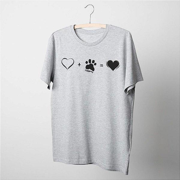 Camiseta Cachorro Amor Completo