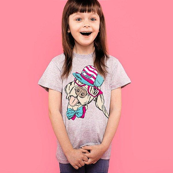 Camiseta Infantil Cachorro Vira-Lata Cool