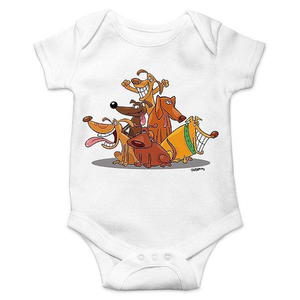 Body Bebê Vira-Lata Cachorrada