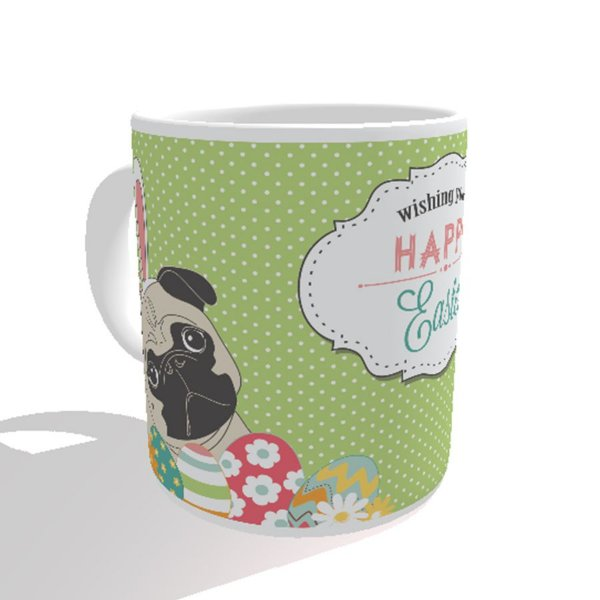 Caneca Cachorro Wishing You a Happy Easter