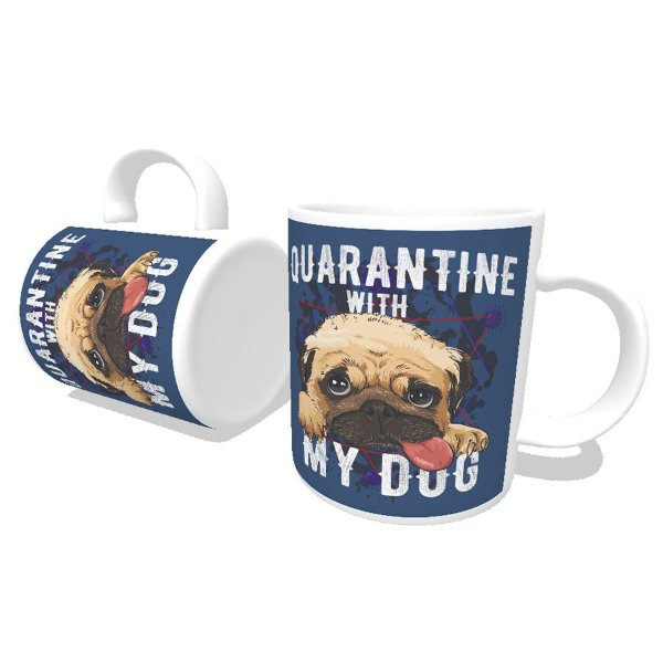 Caneca Quarantine With My Dog