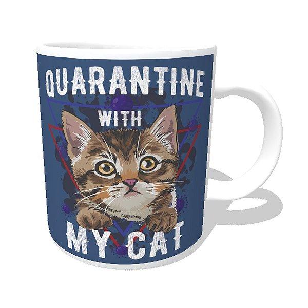 Caneca Quarantine With My Cat