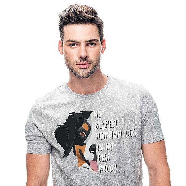 Camiseta Meu Bernese é Meu Melhor Amigo